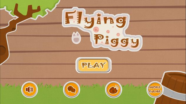 Flying  Piggy poster