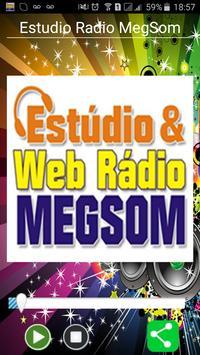Estudio Rádio MegSom poster