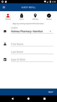 Holmes Pharmacy screenshot 1