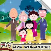 MaRuKo Chan Live Wallpaper 3D icon