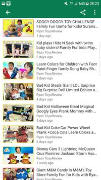 Ryan Toys Review Videos Apk Screenshot