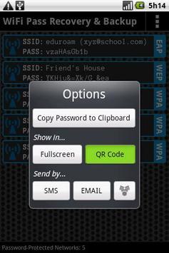 FREE WiFi Password Recovery apk screenshot
