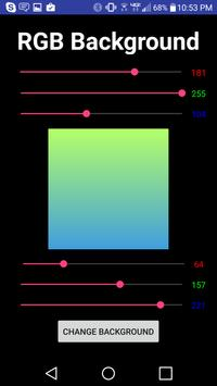 RGB Gradient Wallpaper apk screenshot
