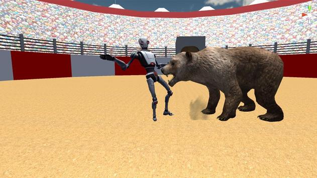 Robot VS Angry Bull 3D screenshot 4