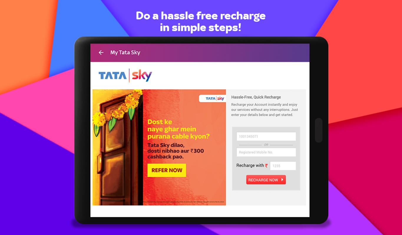 Tata Sky Mobile- Live TV, Movies, Sports, Recharge APK ...