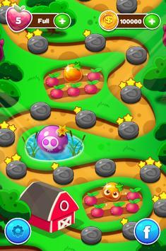 Fruits Mania : SPOOKIZ Match 3 Puzzle game apk screenshot