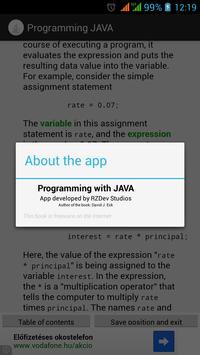 Programming with JAVA - Book apk screenshot