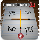 Charlie Charlie challenge 3d icon