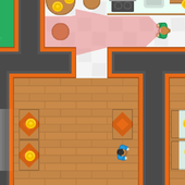 Burglar, Thief steal all cash! icon