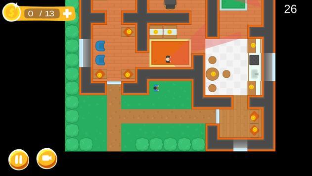 Burglar, Thief steal all cash! screenshot 1