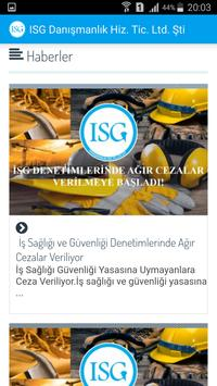 İSG Mobil screenshot 4