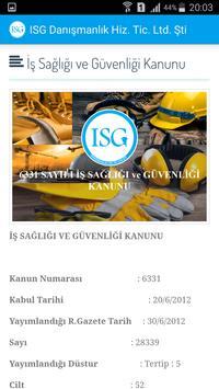 İSG Mobil screenshot 2