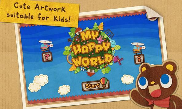 My Happy World Free Hidden OBJ poster