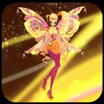 Princess Flora Winx Run poster