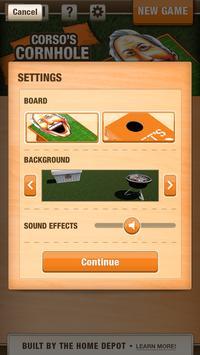 Corso's Cornhole Challenge apk screenshot