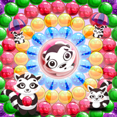 Raccoon Pop - Bubble Shooter icon