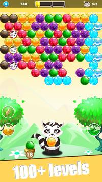 Raccoon Pop - Bubble Shooter screenshot 2