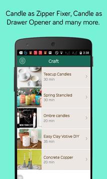 Candle Crafts DIY screenshot 5