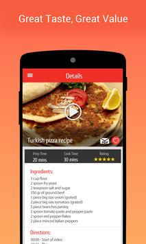 Turkish Recipes with videos apk screenshot