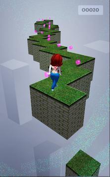 Lady Run - Running Game poster