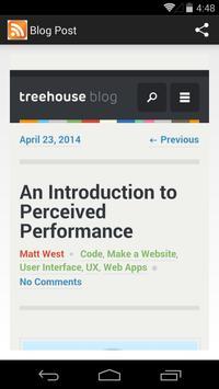 Blog Reader screenshot 1