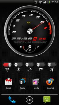 Race Clock 2 HD Widgets + WP poster