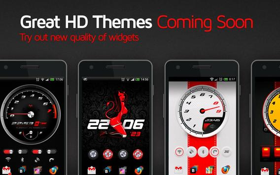 Race Clock 2 HD Widgets + WP apk screenshot