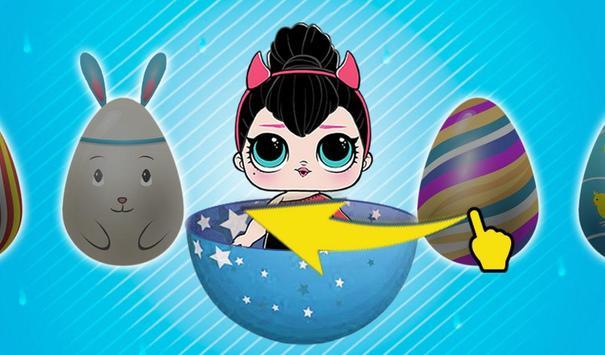 LOL Surprise Dolls Racing Opening New Eggs screenshot 2