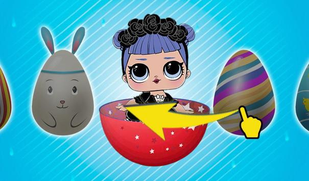 LOL Surprise Dolls Racing Opening New Eggs screenshot 3