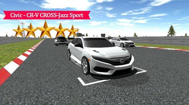 Civic - CR-V Cross-Jazz Racing poster
