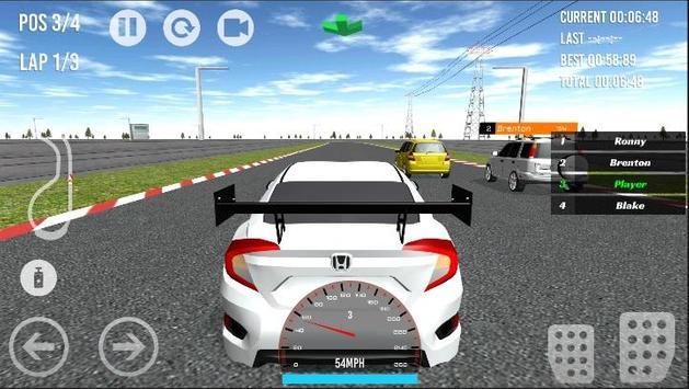 Civic - CR-V Cross-Jazz Racing apk screenshot