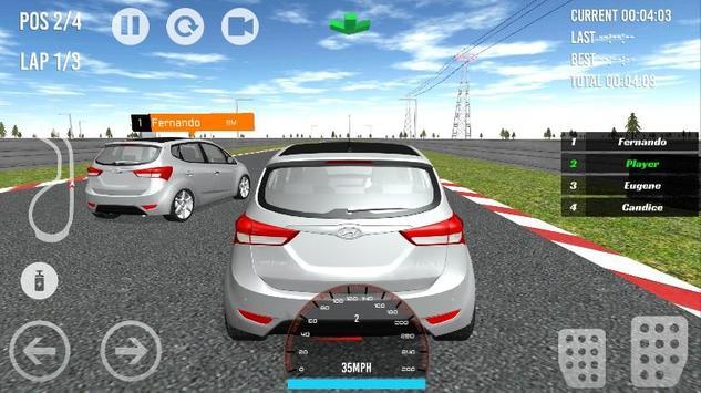Accent-i20-Santa Cross Racing apk screenshot