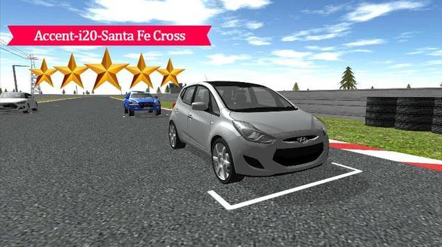 Accent-i20-Santa Cross Racing poster