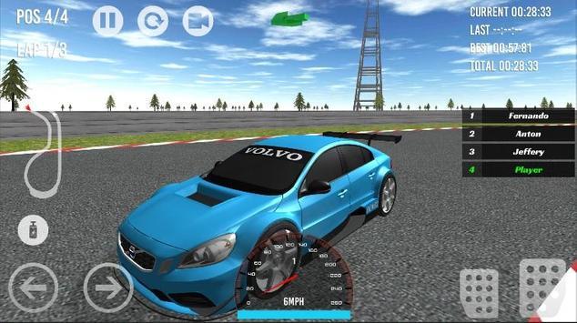 C30 - S60 - XC90 Racing 2017 apk screenshot
