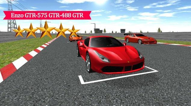 Enzo GTR-575-488 GTR Racing poster