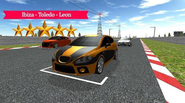Ibiza - Toledo - Leon Racing poster