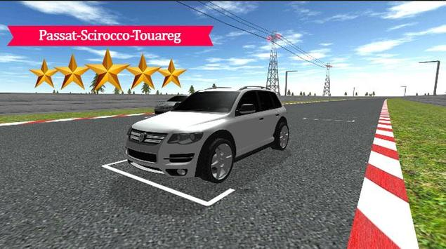 Passat-Scirocco-Touareg Racing poster
