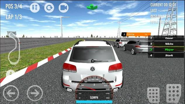 Passat-Scirocco-Touareg Racing apk screenshot