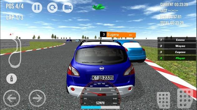 Qashqai - Juke - Micra Racing apk screenshot