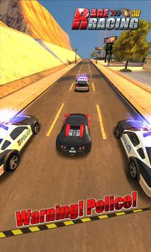 Rage Racing 3D poster