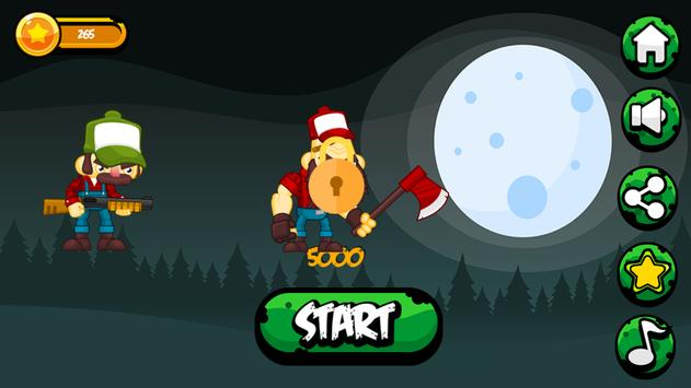 Hunting Zombies - The zombie Hunt game screenshot 1