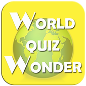 World Quiz Wonder - Country capital, Country Flag icon