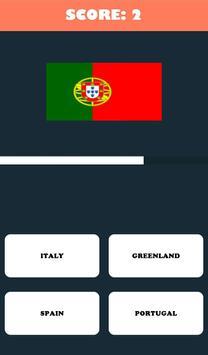 World Quiz Wonder - Country capital, Country Flag screenshot 2