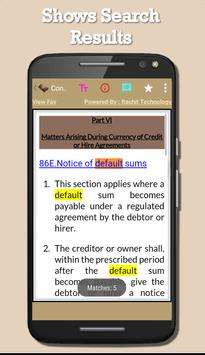 Consumer Credit Act 1974 apk screenshot