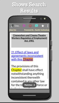 Cineworkers and Cinema Theatre Workers Act, 1981 screenshot 6