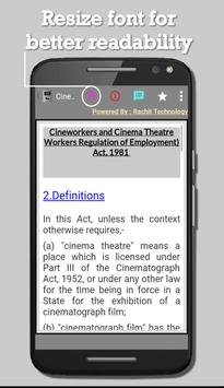 Cineworkers and Cinema Theatre Workers Act, 1981 screenshot 2