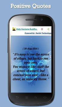 Daily Gautama Buddha Quotes screenshot 6