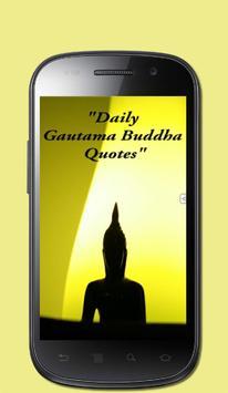 Daily Gautama Buddha Quotes poster