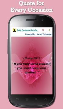 Daily Gautama Buddha Quotes screenshot 13