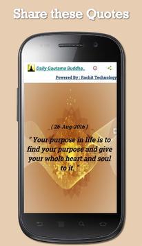 Daily Gautama Buddha Quotes screenshot 2